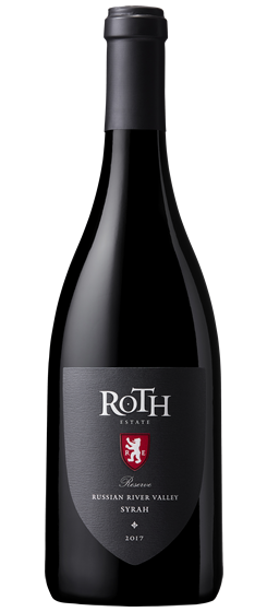 2017 Roth Reserve Syrah, Russian River Valley
