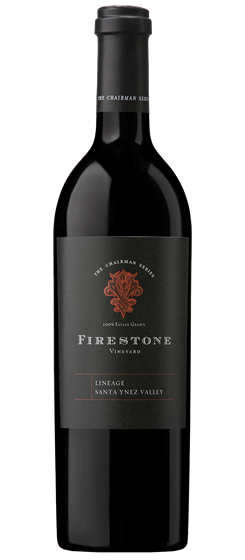 2015 Firestone Vineyard The Chairman Series Lineage, SYV