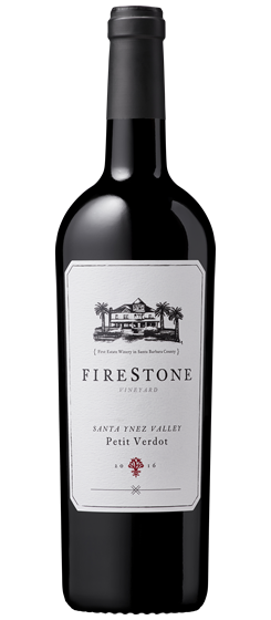 2016 Firestone Vineyard Petit Verdot, Santa Ynez Valley