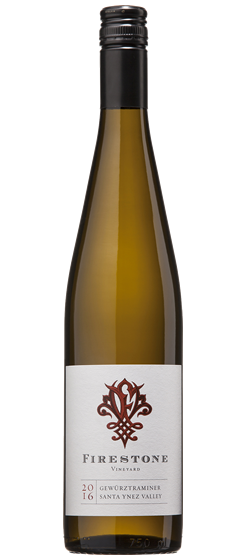 2016 Firestone Vineyard Gewürztraminer, Santa Ynez Valley Image