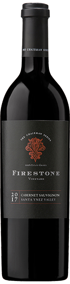 2017 Firestone Vineyard The Chairman Series Cabernet Sauvignon, Santa Ynez Valley