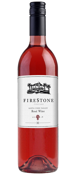 2018 Firestone Vineyard Rosé, Santa Ynez Valley