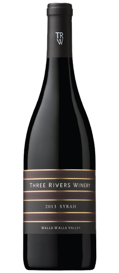 2013 Three Rivers Syrah, Walla Walla Valley