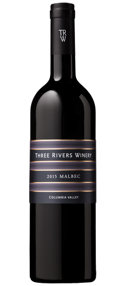 2015 Three Rivers Malbec, Columbia Valley Image