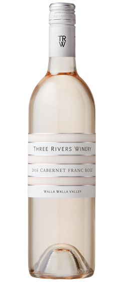 2016 Three Rivers Estate Rose, Walla Walla Valley