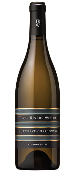 2017 Three Rivers Reserve Chardonnay, Columbia Valley Image