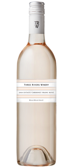 2018 Three Rivers Estate Cab Franc Rosé, Walla Walla