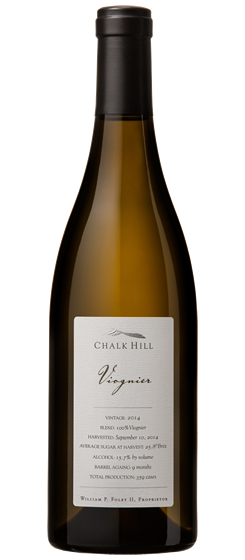 2014 Chalk Hill Chairman's Club Viognier, Chalk Hill AVA