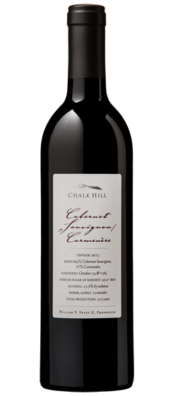 2014 Chalk Hill Carmenère, Chalk Hill AVA