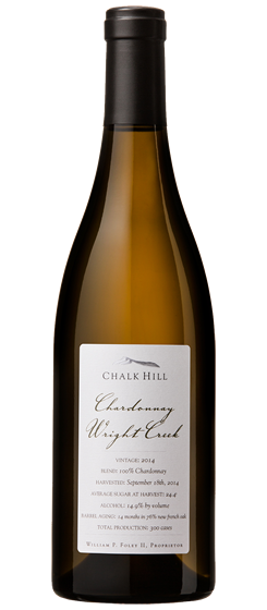 2014 Chalk Hill Wright Creek Chardonnay, Chalk Hill AVA