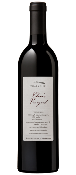 2014 Chalk Hill Clara's Vineyard Red Wine, Chalk Hill AVA