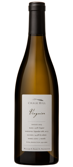 2015 Chalk Hill Chairman's Club Viognier, Chalk Hill AVA