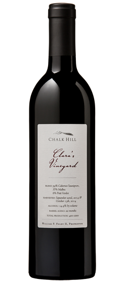 2015 Chalk Hill Clara's Vineyard Red, Sonoma County
