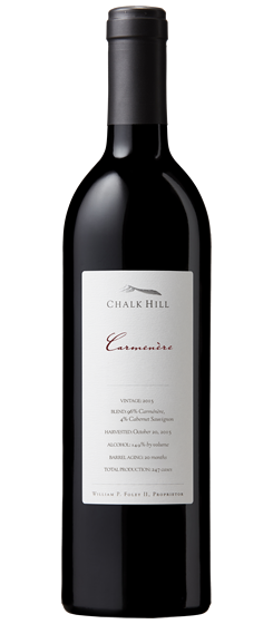 2015 Chalk Hill Chairman's Club Carmenère, Chalk Hill AVA
