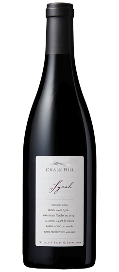 2015 Chalk Hill Chairman's Club Syrah, Sonoma County