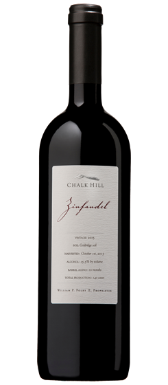 2015 Chalk Hill Chairman's Club Zinfandel, Russian River Valley