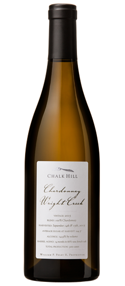 2016 Chalk Hill Wright Creek Chardonnay, Chalk Hill AVA