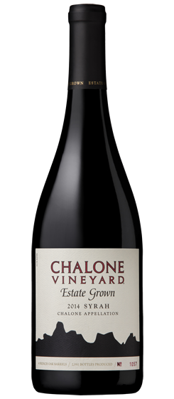 2014 Chalone Vineyard Estate Syrah, Chalone AVA