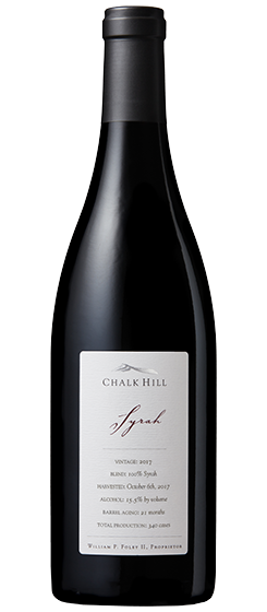 2017 Chalk Hill Chairman's Syrah, Chalk Hill AVA