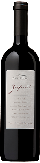 2018 Chalk Hill Estate Zinfandel, Chalk Hill AVA