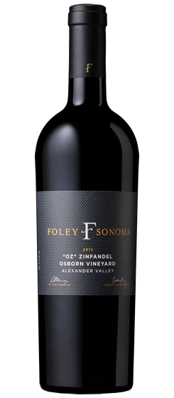 2015 Foley Sonoma Zinfandel, Alexander Valley