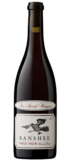 2017 Banshee Rice-Spivak Vineyard Pinot Noir, Sonoma Coast