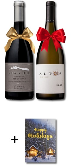 2018 FNF Happy Holidays Wine Duo Image