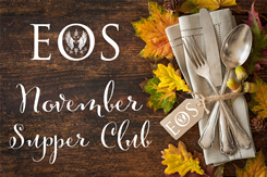 Event Ticket - Eos November 2018 Supper Club Image