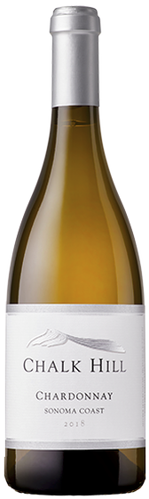 2018 Chalk Hill Chardonnay, Sonoma Coast (375 mL)