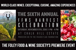 Event Ticket - 2019 6th Annual FFWS Harvest Celebration