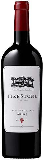 2017 Firestone Vineyard Malbec, Santa Ynez Valley