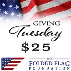 $25 Donation to The Folded Flag Foundation