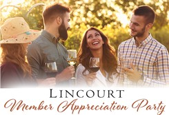 Event Ticket - 2020 Lincourt Member Appreciation Party