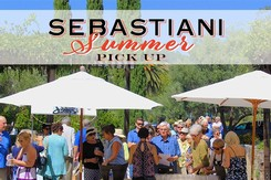 Event Ticket - Sunday, June 2nd only - Sebastiani Summer Wine Club Pick Up