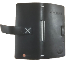 FFWS Leather Wine Log